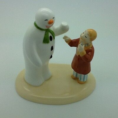 Coalport Snowman Toothy Grin Limited Edition 3073 of 4000
