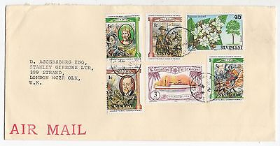 1984 ST VINCENT & THE GRENADINES Air Mail Cover To LONDON