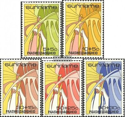 Suriname 1172-1176 (complete issue) unmounted mint / never hinged 1986 Easter