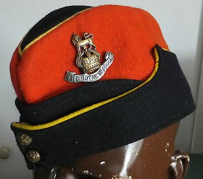 WW2 1st Royal Dragoons Coloured Side Cap