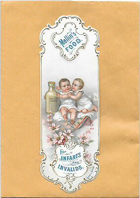 Early Bookmark Possibly Victorian Mellin's Food For Infants And Invalids