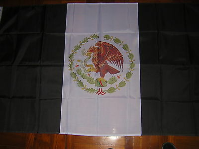 100% NEW reproduced Mexico 1934 -1968 Black Variant Mexican Ensign
