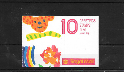 GB 1989 Greetings Folded £1.90 Booklet - FY 1