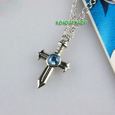 Fairy Tail Collana Cosplay Gray Fullbuster Necklace Grey Rave