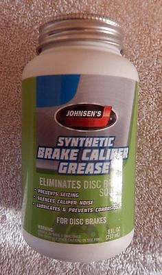 Brake Caliper Synthetic Grease For  Vehicle Brakes By Johnsen 8 Wt Oz New