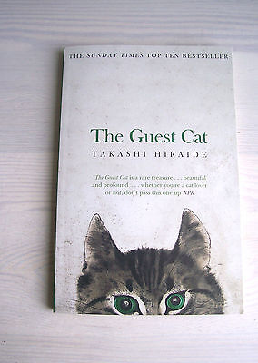 THE GUEST CAT paperback book Takashi Hirade New York Times bestseller 2014