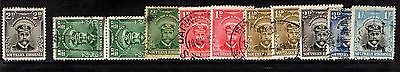 Southern Rhodesia - Admirals to 1/-  - MM/used