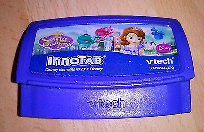 Vtech Disney Sophie the First 1 2 3 Innotab Inno Tab Game 4-6 yrs Unboxed