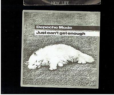 Depeche Mode Just Can't Get Enough Ps 45 1981