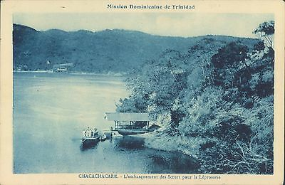 Trinidad and Tobago Chacachacare French mission 1920s PC