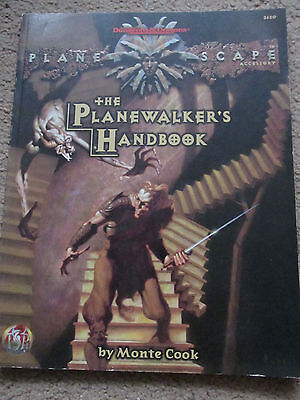 Tsr Ad&d Planescape Planewalkers Handbook 2620 Vgc Rpg Advanced Dungeon Dragon