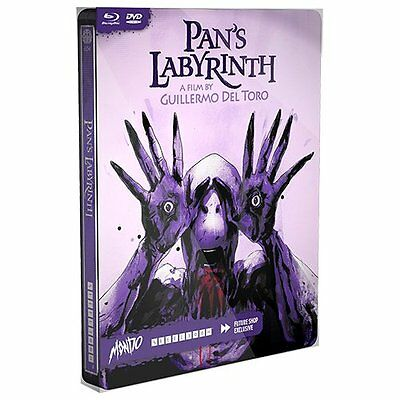 Pan's Labyrinth: Future Shop MONDO X SteelBook #004 [Blu-ray + DVD, 2-Disc] NEW