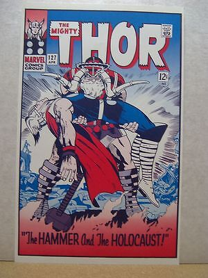Jack Kirby: Thor # 127 Cover Poster (USA)