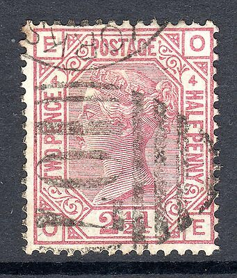 1873 - 80 SG 140 2&1/2d Rosy Mauve Plate 4 Fine Used.Cat £80.00.