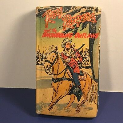 1941 Better Little Books Whitman Publishing Roy Rogers Snowbound Outlaws Western