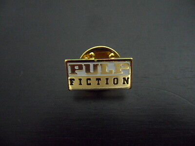 PULP FICTION - Original 1994 Promotional Pin / Button Badge - Quentin Tarantino