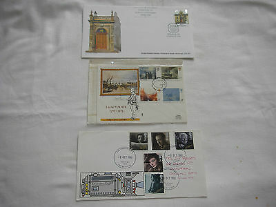 Three First Day Covers