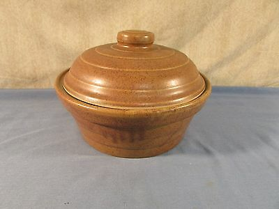Monmouth Mojave Brown Lidded Casserole Dish