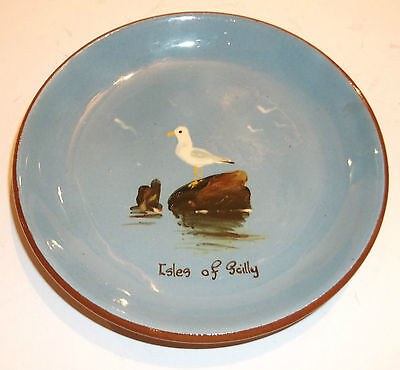 Isles Of Scilly Dartmouth Pottery Small Plate-Lovely Piece!