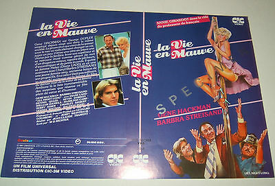"Barbra Streisand Rare French Video 8X10 Card ""all Night Long"""