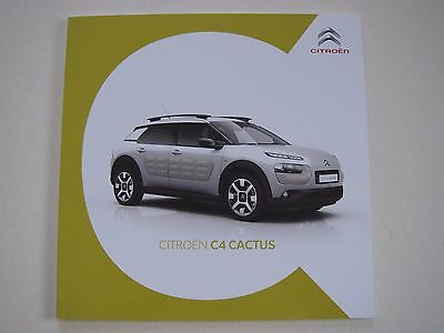 Citroen . C4 . Cactus . June 2016 Sales Brochure