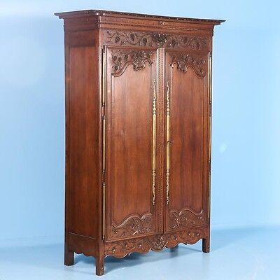 Antique Late 18th Century French Carved Armoire