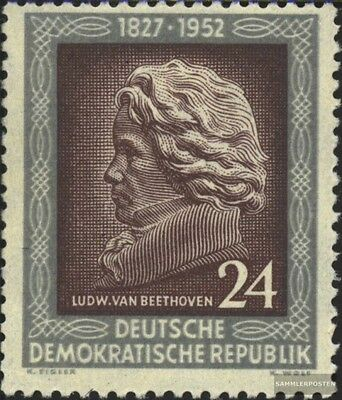 DDR 301 unmounted mint / never hinged 1952 125.Death of Beethoven