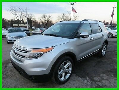 2013 Ford Explorer Limited 4WD 2013 Limited 4WD Used 3.5L V6 24V Automatic 4WD SUV clean clear title carfax we