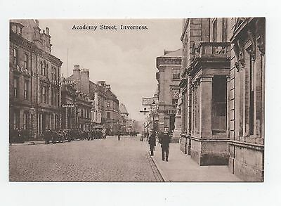 Early postcard Academy Street Inverness