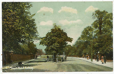 St. Mary's Road, Ealing, 1906 postcard