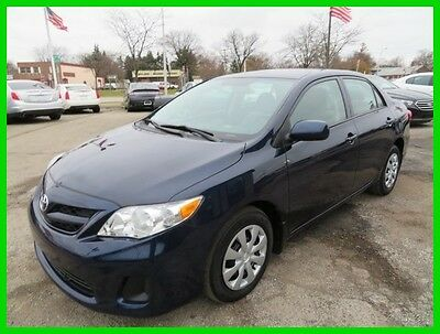 2013 Toyota Corolla LE 2013 LE Used 1.8L I4 16V Automatic FWD Sedan clean clear title we finance carfax