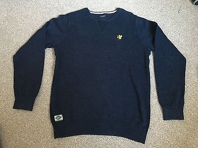 Boys Next Navy Jumper, age 13 years, VGC