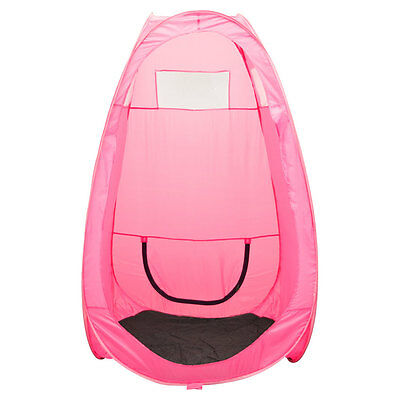 Tanning Booth Pop Up Tent Airbrush Spray Tan Mobile Portable Sunless Pink 1A