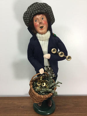 Byers Choice Carolers 1998 Cries Of London Candlestick Vendor