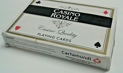 007 James Bond Casino Royale Casino Quality Playing Cards Collectors movies TV