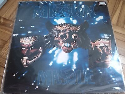 THE MISSION Masque LP 1992 BRAZIL PRESSING SISTERS OF MERCY VINYL VG+/NM