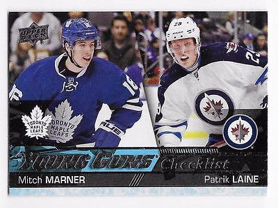 500 Mitch Marner/Patrik Laine CL 2016-17  UPPER DECK YOUNG GUNS ROOKIE