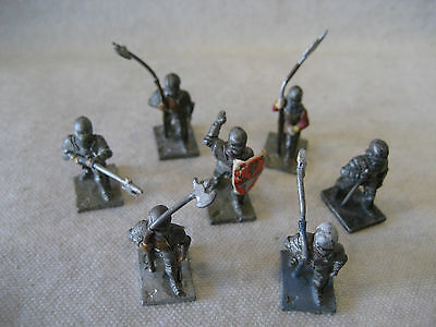 old Minifigs War of the Roses KNIGHTS w/ spear SWORD rpg gaming miniatures 25mm!