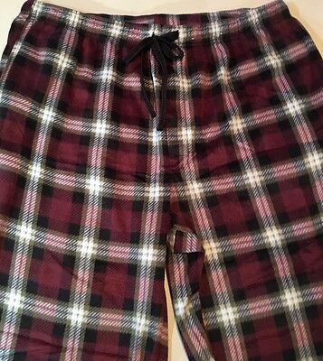 Pair of mens sleep pants pajama bottoms Stafford brand size XL