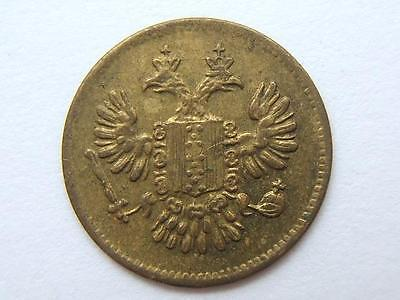 19thC SPIEL MARKE Double Two Headed Eagle GERMANY token coin VERY GOOD