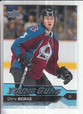 16/17 Ud Chris Bigras Young Guns Rc Sp Rookie #245