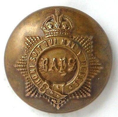 K/C The Queen's Bays, 2nd Dragoon Guards  25mm O/R's Brass metal button.