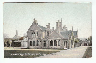 Cathedral Of Argyll The Isles And The Garrison Millport Cumbrae Pre 1918 Wrench
