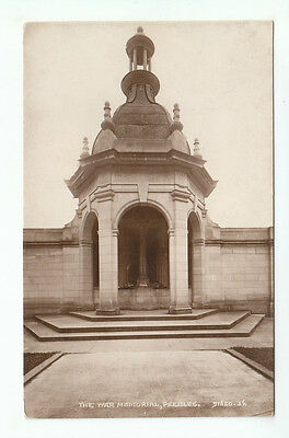 The War Memorial Peebles 1924 Real Photograph Valentines 91620 Old Postcard
