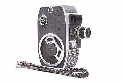 Pallard Bolex L8 8mm Movie Film Camera w/ Yvar 12.5mm F/2.8 Lens