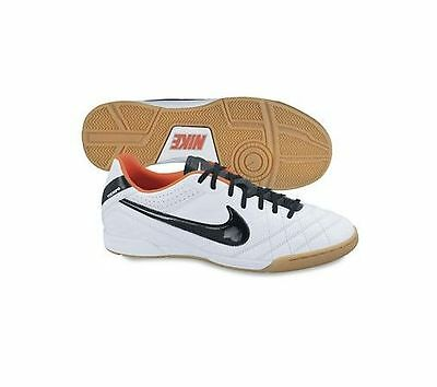9ca9c9594 Nike Tiempo Natural IV IC 2013 Iindoor Soccer Shoes White / Orange / Black