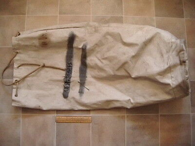 AM 1942 dated RAF kit bag - well used , still whole & strong no tears or holes