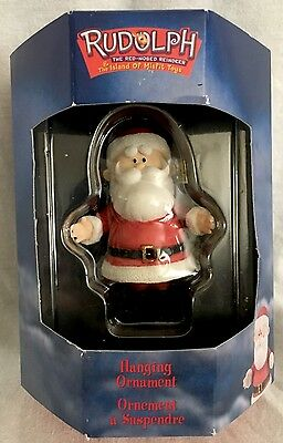 Rudolph The Island of Misfit Toys SANTA CLAUS Ornament Enesco MIB UNOPENED VHTF