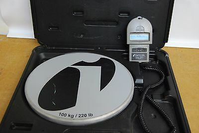 """Inficon Wey Tek Refrigerant Charging Scale With Hardcase """"713-500-G1"""""""