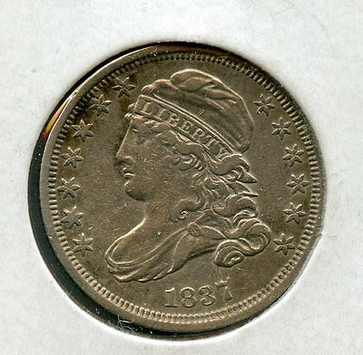 Gorgeous 1837 Capped Bust Dime 10c Uncertified ZX107